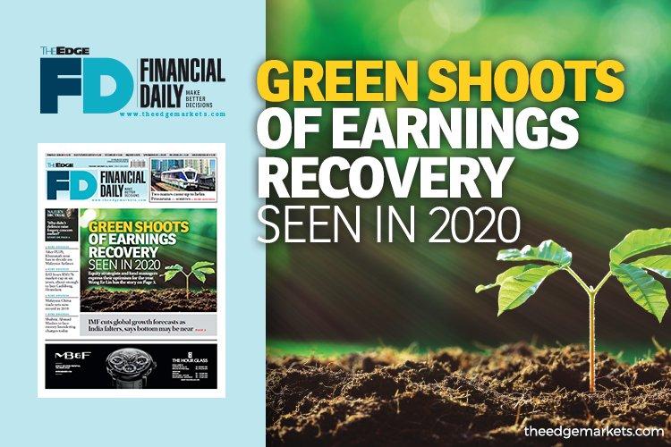 2020年将出现盈利复苏的绿芽